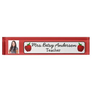 Personalisierter Namen-und Schreibtischplakette