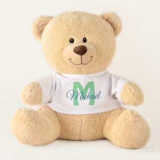 Personalisierter Namensder teddy-Bär des Teddy