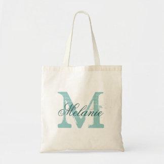 Personalisierter Namensmonogramm-Taschen-Tasche |