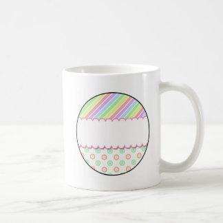 Personalisierter Namensregenbogen Tasse