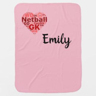 Personalisierter Netball-Ball-Entwurf Puckdecke