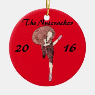 Personalisierter Nussknacker-Verzierungs-Chinese Keramik Ornament