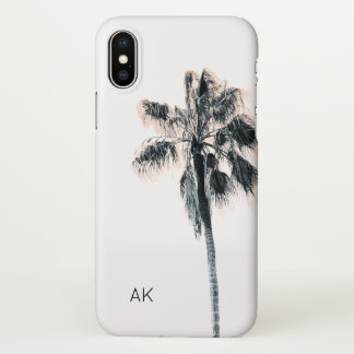 Personalisierter Palme iPhone X Fall iPhone X Hülle