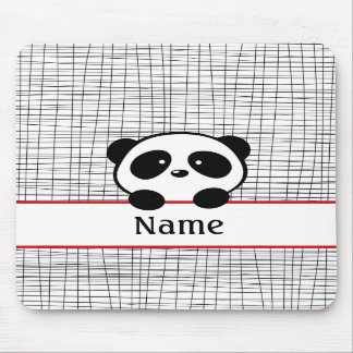 Personalisierter Panda Mousepad