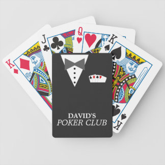 Personalisierter Poker-Verein Bicycle® Spielkarten