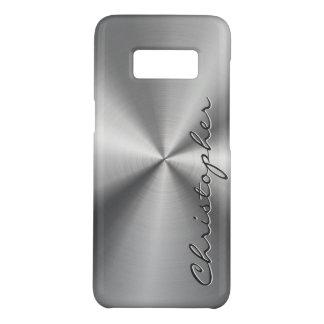 Personalisierter rostfreier Stahl-metallischer Case-Mate Samsung Galaxy S8 Hülle