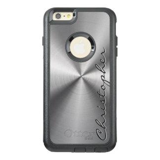 Personalisierter rostfreier Stahl-metallischer OtterBox iPhone 6/6s Plus Hülle