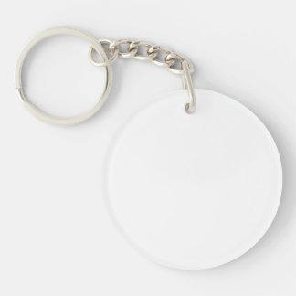 Personalisierter runder Schlüsselanhänger