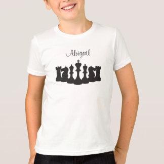 Personalisierter Schach-T - Shirt für Kinder