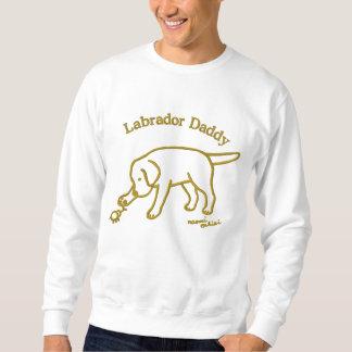 Personalisierter schwarzer Labrador-freundlicher Sweatshirt