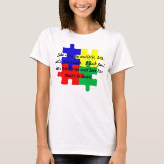"""Personalisierter """"Schwester-"""" Autismus-T - T-Shirt"""