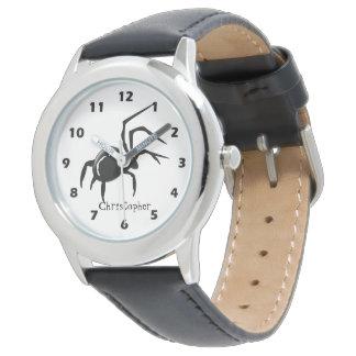 Personalisierter Spinnen-Entwurf Uhren