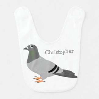 Personalisierter Tauben-Entwurf Lätzchen
