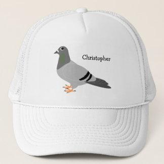 Personalisierter Tauben-Entwurf Truckerkappe