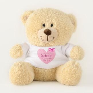 Personalisierter Teddybär