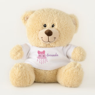 Personalisierter Teddybär unter dem Meer