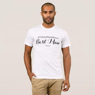 Personalisierter Trauzeuge-T - Shirt vom BrautSet