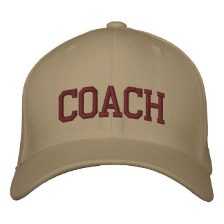 Personalisierter u. gestickter Hut der Trainer-Kap Bestickte Baseballkappe