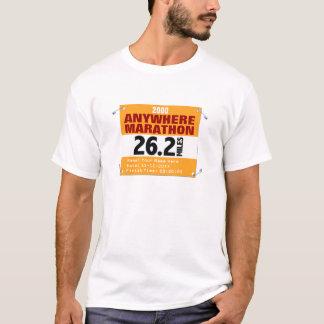 Personalisierter überall Marathon-Läufer, 26,2 T-Shirt