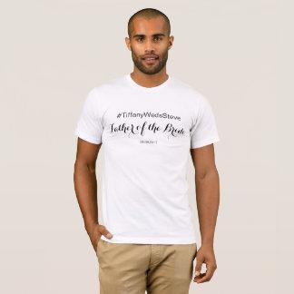 Personalisierter Vater des Braut-T - Shirt vom Set