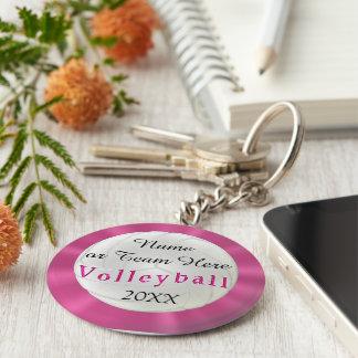 Personalisierter Volleyball Keychains mit NAMEN, Schlüsselanhänger