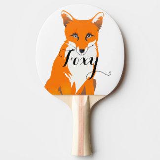 Personalisierter WaldgeschöpfeFox Tischtennis Schläger