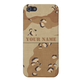 Personalisierter Wüsten-Tarnung iPhone 5C Fall iPhone 5 Cover