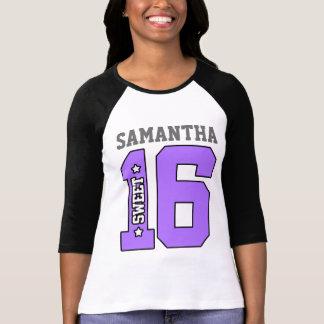 Personalisiertes 16. Geburtstag-Shirt T-Shirt