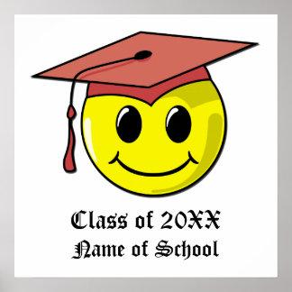 Personalisiertes Abschluss-Plakat