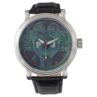 Personalisiertes Auto-Themed Entwurf Uhr