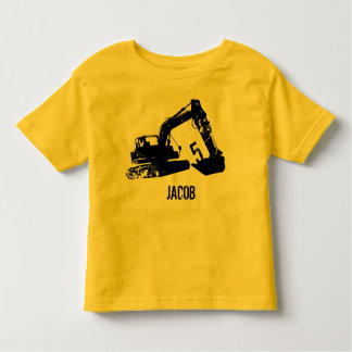 Personalisiertes Bagger-Shirt Kleinkind T-shirt
