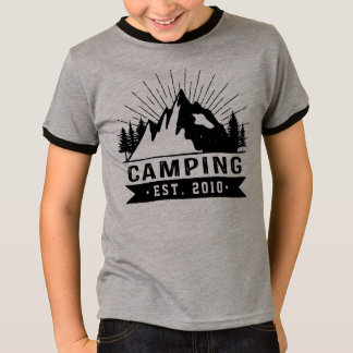 Personalisiertes Camping T-Shirt