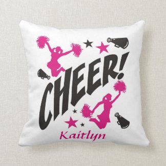 Personalisiertes Cheerleaderthrow-Kissen Kissen