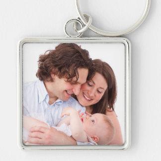 Personalisiertes Familien-Foto Keychain Schlüsselanhänger