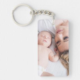 Personalisiertes Foto der Familien-Schlüsselkette Schlüsselanhänger