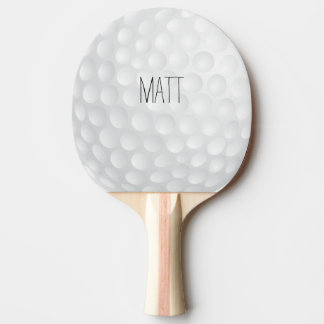 Personalisiertes Golf-Häuschen Tischtennis Schläger