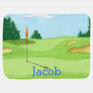 Personalisiertes Golf-Kurs-Grün Puckdecke