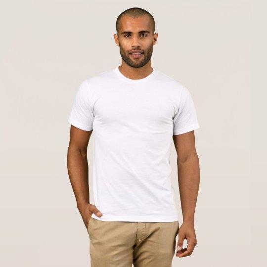 Männer Basic American Apparel T-Shirt