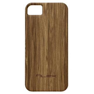 Personalisiertes helles Holz iPhone 5 Hülle