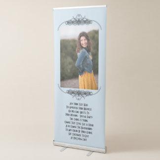 Personalisiertes Hochzeits-Party oder Ausziehbarer Banner