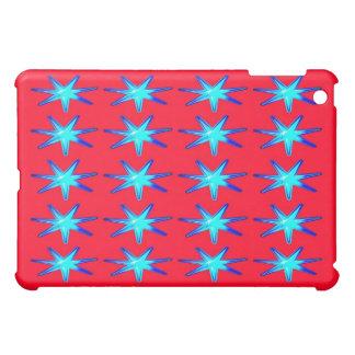 Personalisiertes Ipad Fallrosa mit glühenden Stern Hülle Für iPad Mini
