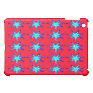 Personalisiertes Ipad Fallrosa mit glühenden Stern