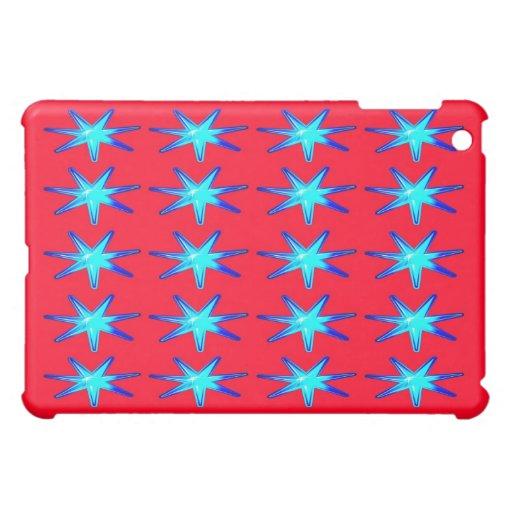 Personalisiertes Ipad Fallrosa mit glühenden Stern Hüllen Für iPad Mini