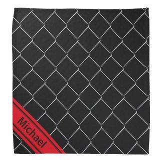 Personalisiertes Kettenverbindungs-Muster Halstuch