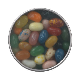 Personalisiertes klares Deckel-Süßigkeits-Zinn Süßigkeitenbox