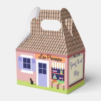 Personalisiertes kleines Haus des Geschenkschachtel