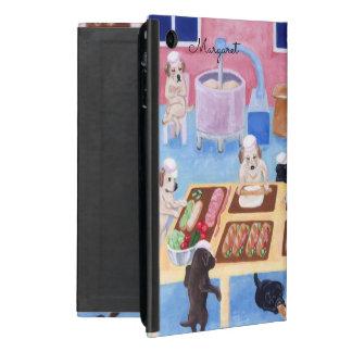 Personalisiertes Labrador-Bäckerei ipad Minifall iPad Mini Etuis