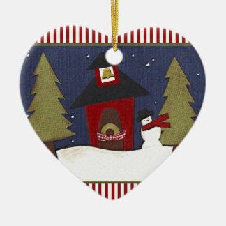 Personalisiertes Lehrer-Feiertags-Geschenk Keramik Ornament