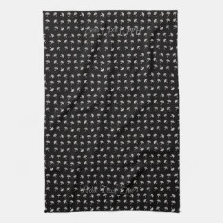 Personalisiertes lustiges Regenschirm-Muster-Tuch Küchentuch