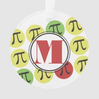 Personalisiertes Mod-PU-Mathe Ornament
